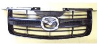 Mazda Pick Up 2.5TD - BT50 (16 Valve) (08/2006-06/2011) - Front Radiator Grille (Chrome Plated + Black)
